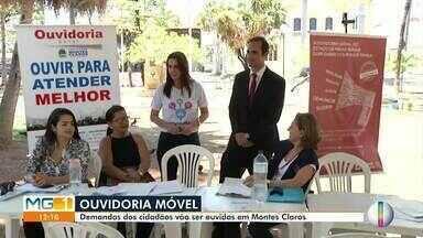 Ouvidoria móvel: Demanda dos cidadãos são ouvidas em Montes Claros - Serviço oferecido é totalmente gratuito.
