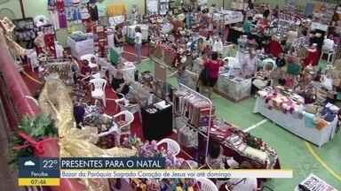 Bazar de Natal acontece na Paróquia Sagrado Coração de Jesus, em Santos - Feira segue até este domingo, das 15h às 21h.