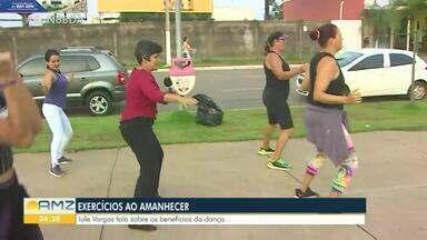 Benefícios da dança e outros exercícios físicos - A repórter Iule Vargas foi até o espaço alternativo em Porto Velho e acompanhou um grupo que pratica Fit Dance.