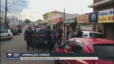 Operação Horus da Polícia Civil cumpre 11 mandados em Mococa - Até a manhã desta sexta-feira (8), cinco pessoas foram presas.