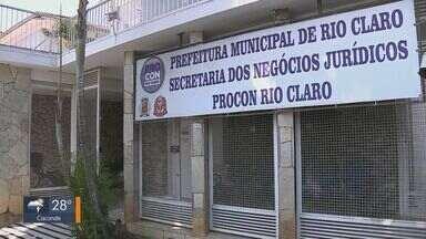 Rio Claro prorroga prazo para renegociação de dívidas até quinta-feira - Consumidores devem procurar o Procon, na unidade do Centro ou Cervezão.