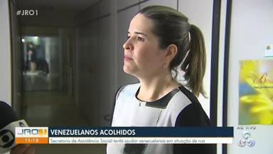 Prefeitura realiza reunião para tratar situação de venezuelanos em situação de rua - Prefeitura realiza reunião para tratar situação de venezuelanos em situação de rua