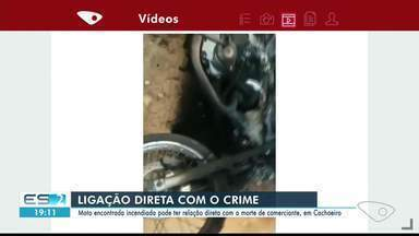 Polícia encontra moto que pode ter ligação com morte de comerciante em Cachoeiro, ES - Comerciante foi morto na noite desta quinta-feira (7), em um bar.