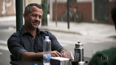 Agno explica seu plano para Bernardo - Bernardo aceita ajudar Agno a acabar com Fabiana