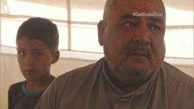 Visita ao campo de refugiados no Curdistão Iraquiano - André Fran, Felipe UFO, Michel Coeli conhecem os yazidis, um dos povos mais perseguidos do mundo.