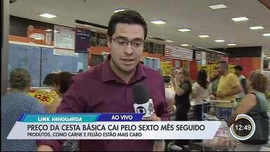 Veja produtos da cesta básica que tiveram aumento nos preços - Cesta básica de outubro foi divulgada na sexta-feira (8) pelo Nupes.
