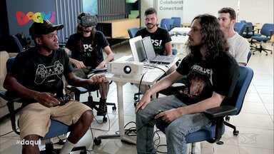 Maranhenses se destacam na criação de jogos de videogame - Um grupo de amigos criou a 'Ops!', que é uma empresa que trabalha com a produção de jogos por encomenda e já se destacam no mercado.