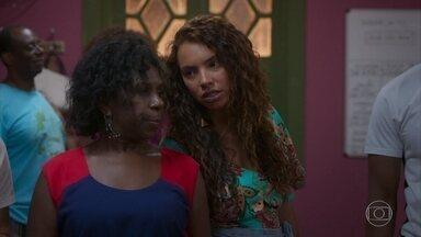 Elomar percebe que Ramon e Francisca estão juntos - Ramon pede que ela guarde segredo