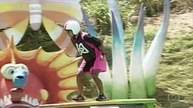 Olimpíadas do Faustão: 'Surfe de Lagoa' - Confira!