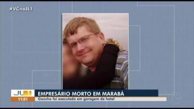 Empresário gaúcho é assassinado em Marabá, sudeste do Pará - Empresário gaúcho é assassinado em Marabá, sudeste do Pará
