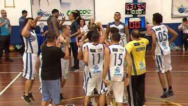 Aquamais é campeão da Liga Aracajuana de Basquete - Final foi com o Sergipense, no ginásio do colégio São Paulo.