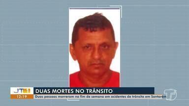 Dois homens morrem em acidentes de trânsito na BR-163 durante o fim de semana, em Santarém - Graves acidentes aconteceram no domingo (10).