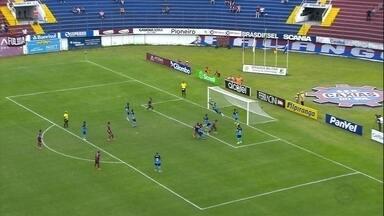 Caxias empata com o Pelotas e fica fora da decisão da Copinha - Equipe da Serra precisava vencer por dois gols de diferença.