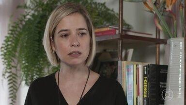 Lígia decide interromper as visitas de Rita a Nina - Joaquim explica a Filipe que Rui anda rondando Nina na pracinha
