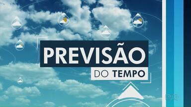 Frente fria traz chuva para a região dos Campos Gerais - Confira a previsão do tempo.