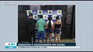 Paraense é assassinado na cidade de Anápolis, em Goiás - A Polícia investiga as motivações do crime.