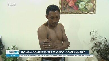 Suspeito diz que estava 'possuído' e confessa morte de companheira a facadas em Macapá - Homem, de 39 anos, foi preso pelo feminicídio de Janete Ferreira Gomes, de 35 anos.