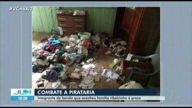 Polícia prende suspeito de assaltar família de ribeirinhos próximo de Mosqueiro, em Belém - O crime ocorreu durante a madrugada.
