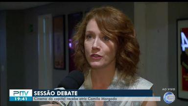Camila Morgado vem a Teresina para debate sobre seu novo trabalho no cinema - Camila Morgado vem a Teresina para debate sobre seu novo trabalho no cinema