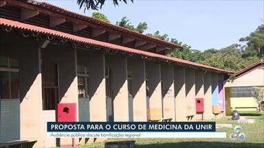 Audiência discute bonificação regional - A proposta é parte das vagas do curso de medicina da Unir, sejam destinadas a rondonienses.