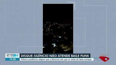 Prefeitura e polícia explicam por que disque-silêncio não vai ate bailes funk, no ES - Eles alegam que a denúncia deve vir antes de a festa começar.