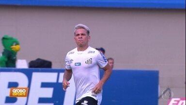 Goiás 0 x 3 Santos: com show de Soteldo, Santos ruma à vaga direta na Libertadores - Goiás 0 x 3 Santos: com show de Soteldo, Santos ruma à vaga direta na Libertadores