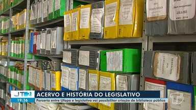 Ufopa e poder legislativo planejam criação de biblioteca pública em Santarém - Ufopa deve higienizar e organizar documentos que fazem parte da história da casa legislativa.