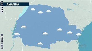 Quinta-feira (14) deve ser de chuva na região Noroeste - Temperaturas oscilam pouco nas maiores cidades.