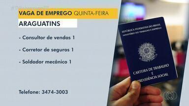 Veja as vagas de emprego disponíveis em Dianópolis, Guaraí e Araguatins - Veja as vagas de emprego disponíveis em Dianópolis, Guaraí e Araguatins
