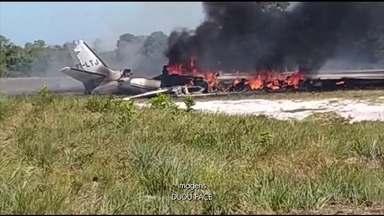 Avião cai ao tentar pousar em um resort na Bahia; uma pessoa morreu - Nove pessoas ficaram feridas, algumas em estado grave.