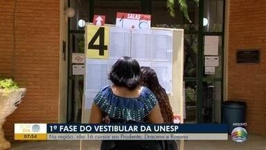 1ª Fase do vestibular da Unesp ocorre nesta sexta-feira - Oeste Paulista tem 16 cursos em três cidades.