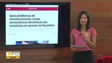 Novas tornozeleiras eletrônicas serão instaladas em presos no Tocantins - Novas tornozeleiras eletrônicas serão instaladas em presos no Tocantins