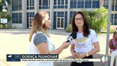 Ação oferece exames médicos gratuitos em Montes Claros - Ação faz parte do Dia de Combate a Doença Pulmonar Obstrutiva.