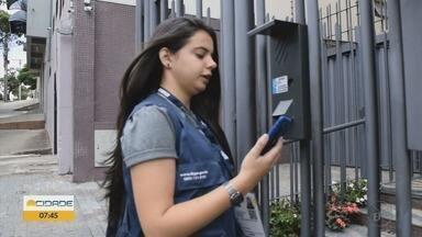 Recenseadores têm dificuldade em falar com moradores de Poços de Caldas para Censo - Recenseadores têm dificuldade em falar com moradores de Poços de Caldas para Censo