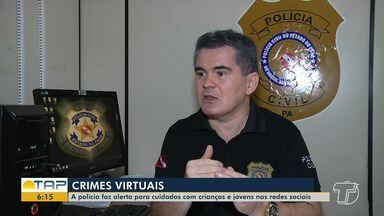 Adolescentes têm sido vítimas de criminosos que agem através das redes sociais - Polícia Civil de Santarém investiga casos.