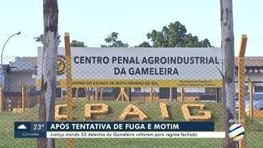 Justiça manda 53 detentos da Gameleira voltarem para regime fechado - Justiça manda 53 detentos da Gameleira voltarem para regime fechado