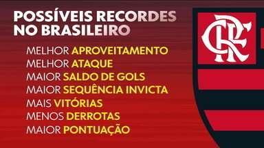 Faltando cinco rodadas para o fim do Brasileirão, Flamengo ainda tem muito recorde para conquistar - Faltando cinco rodadas para o fim do Brasileirão, Flamengo ainda tem muito recorde para conquistar