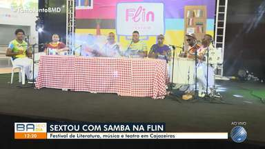 Feira Literária acontece no bairro de Cajazeiras, em Salvador - O evento vai até sábado (16). Confira.