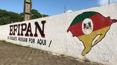 Estádio Farroupilha, que estava interditado em Alegrete, vai reabrir - Assista ao vídeo.