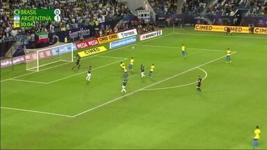 Melhores momentos de Brasil 0 x 1 Argentina em amistoso internacional - Melhores momentos de Brasil 0 x 1 Argentina em amistoso internacional