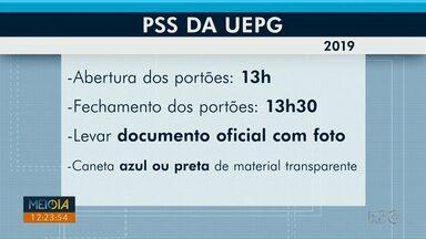 Provas do PSS da UEPG acontecem neste domingo (17) para 24 mil candidatos - Os testes serão aplicados em 19 cidades.