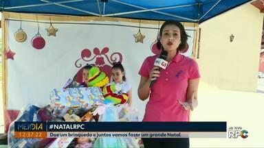 #NATALRPC: Doe um brinquedo novo ou usado até 10 de dezembro - Doações podem ser feitas em caixas espalhadas pela cidade ou na sede da RPC em Ponta Grossa.