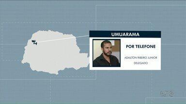 Taxista desaparecido em Alto Piquiri é encontrado morto na região de Iporã - A polícia chegou até o local onde o corpo estava pelo depoimento dos suspeitos do crime.