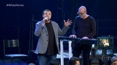 """Peninha canta o sucesso """"Sozinho"""" - O compositor fala sobre cantores que já interpretaram suas músicas"""