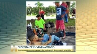Polícia investiga a morte de quatro homens, em São Paulo - Alguns deles eram moradores de rua. Uma das suspeitas é envenenamento.