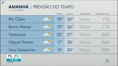 Terça-feira será de sol entre nuvens no Sul do Rio - Há possibilidade de chuva em algumas cidades da região.