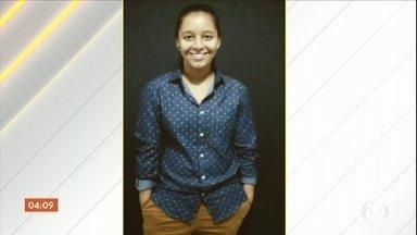 Jovem é morta durante assalto em Porto Alegre (RS) - Ela tentava ajudar uma amiga quando foi baleada na cabeça. O crime foi registrado por câmeras de segurança.