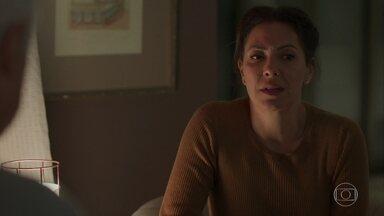 Nana fica triste com a separação com Diogo - Alberto descobre que Diogo traiu Nana