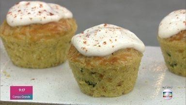 Muffin de Legumes - O prato é saudável e muito simples de preparar
