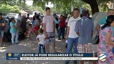 Eleitores de Corumbá e Ladário já podem regularizar o título - Por dia serão distribuídas cerca de 90 senhas para atendimento